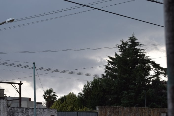 Lluvias y tormentas fuertes para la zona