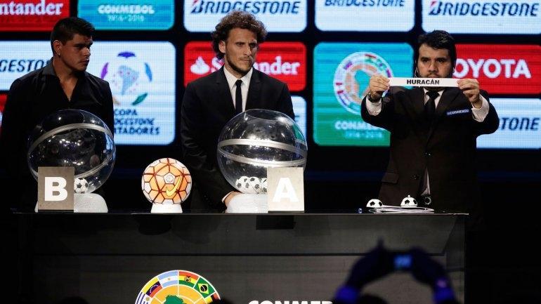 Se sortearon los grupos para la Copa Libertadores 2016