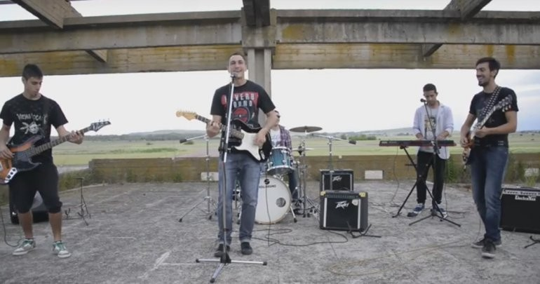 "La banda local ""Caster Rock"" presentó su video"