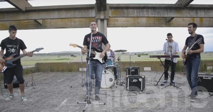 """La banda local """"Caster Rock"""" presentó su video"""