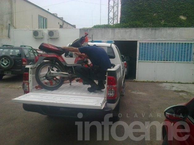 Recuperan motos robadas en operativos policiales