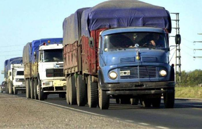 Rige la restricción de camiones por el fin de semana largo