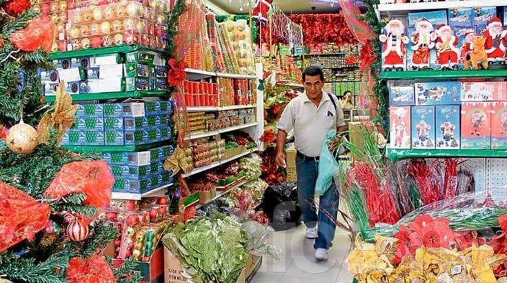Las ventas navideñas aumentaron un 4,3 por ciento interanual