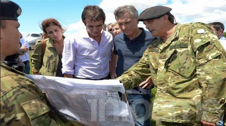 Macri recorrió Concordia y prometió ayuda económica