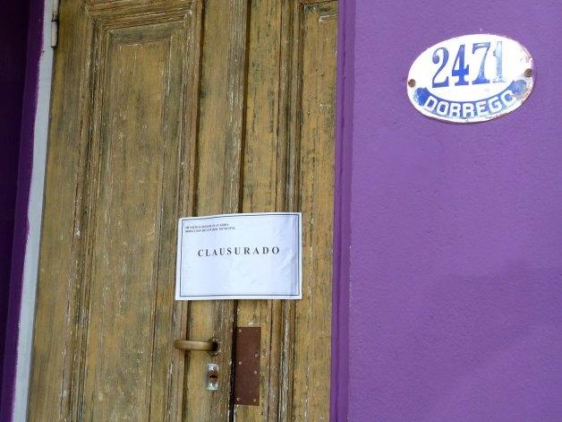 Se clausuró un restaurante por habilitación vencida