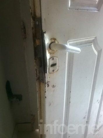 Forzaron una puerta y les robaron por segunda vez