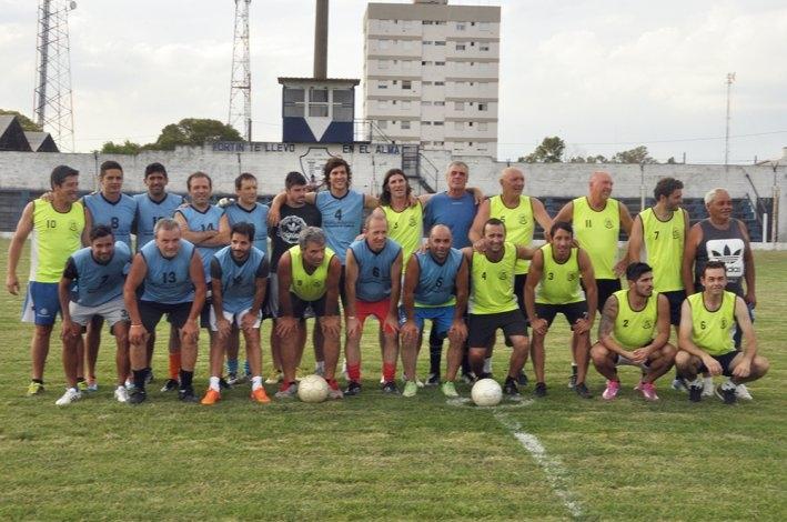 Volvió el fútbol solidario