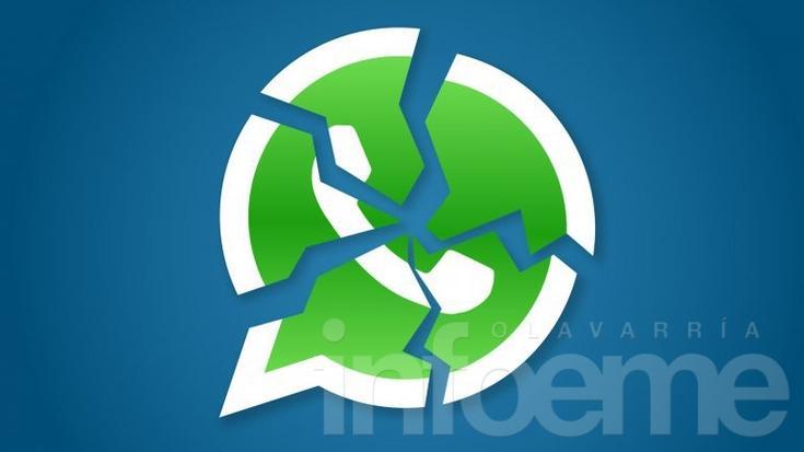 Problemas con WhatsApp en todo el mundo