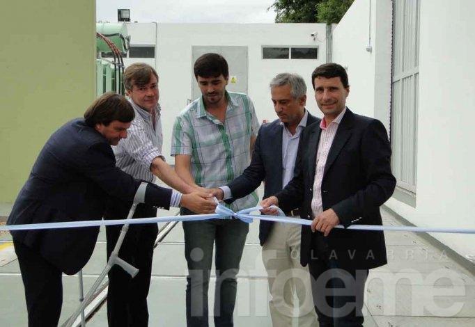 Quedó inaugurada la nueva estación transformadora de electricidad para la Ciudad
