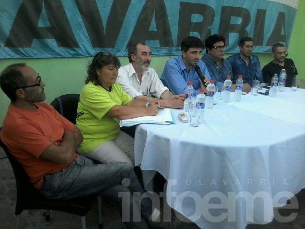 Los Municipales recibieron a Ezequiel Galli en el Sindicato