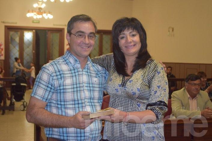 Se entregaron reconocimientos a concejales salientes