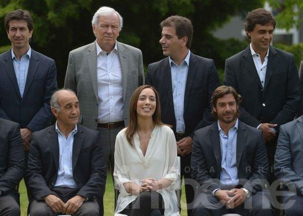 Vidal presentó su Gabinete y ratificó el pago del aguinaldo