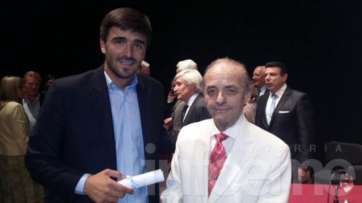 Galli recibió su diploma de Intendente Municipal