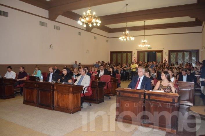 Eduardo Rodríguez fue reelecto como Presidente del Concejo Deliberante