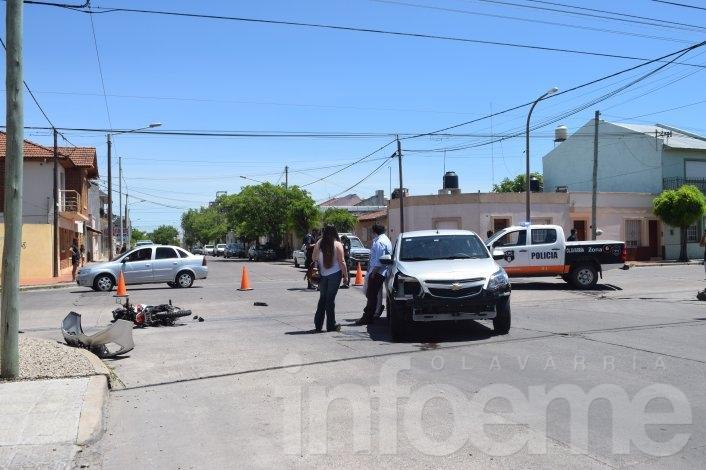 Choques, alcoholemia, heridos y vuelco fatal fue el saldo de un domingo policial en Olavarría