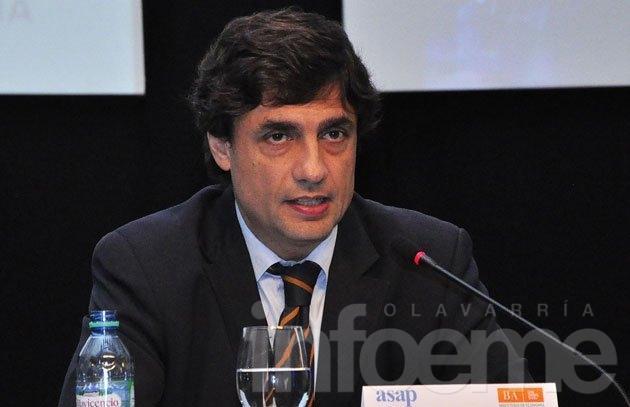 """Hernán Lacunza dijo que Vidal recibirá """"la caja en cero"""""""