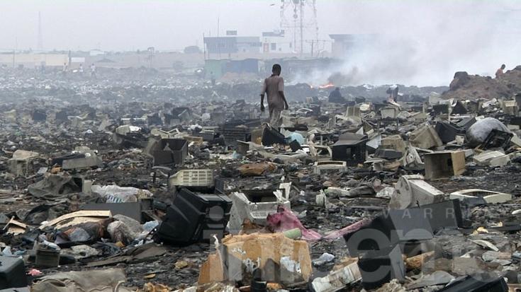 La tecnología que mata: crece un 60% la basura electrónica