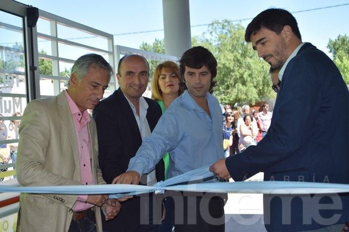 En el cierre de su mandato, Eseverri inauguró una obra junto a Galli