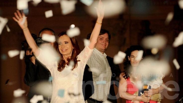 """Cristina en su último discurso: """"Podemos mirar a los argentinos a los ojos"""""""