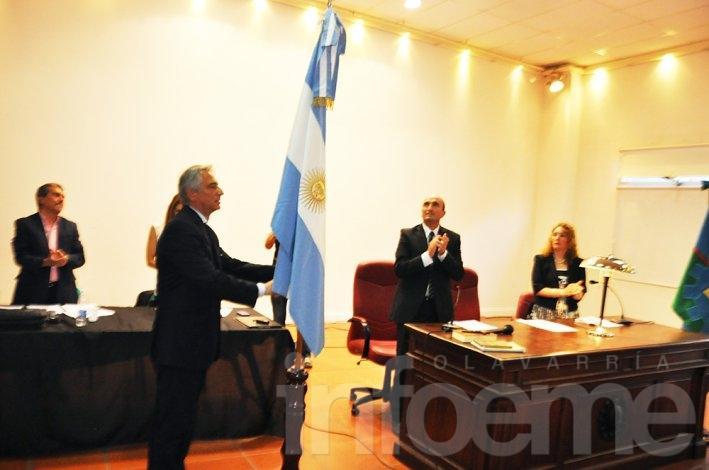 Ezequiel Galli prestó juramento y asumió como Intendente Municipal