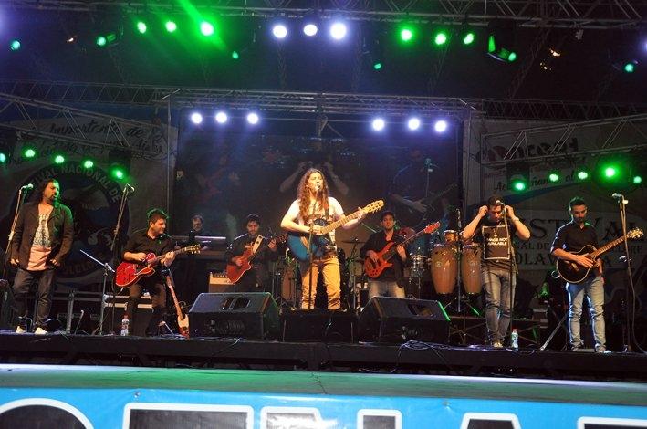 Sigue el Festival de Doma y Folclore: otra jornada llena de música