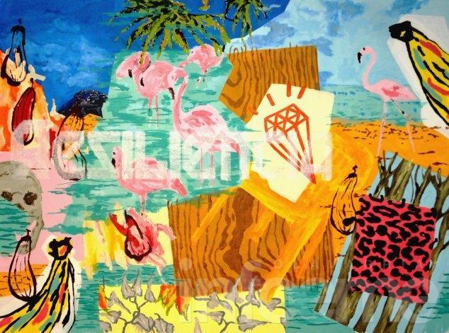 """Benjamín Aitala presenta """"Tropical Mind"""" en la Galería ABRA de Tandil"""