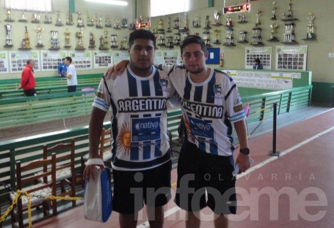 """La Argentina de """"Nico"""" Serantes tuvo un buen viernes"""