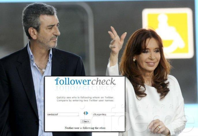 Fin de la lealtad K: Randazzo ya no sigue a Cristina en Twitter