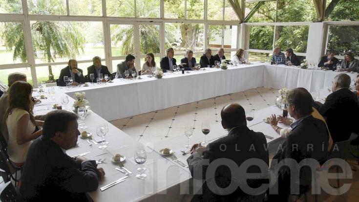 Mauricio Macri recibió a todos los gobernadores en Olivos