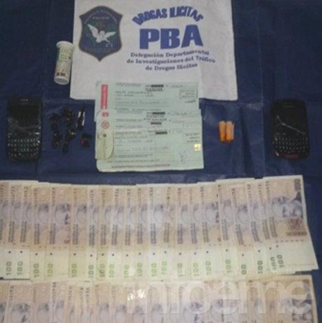 Atrapan a un hombre que vendía cocaína en los alrededores del Bingo