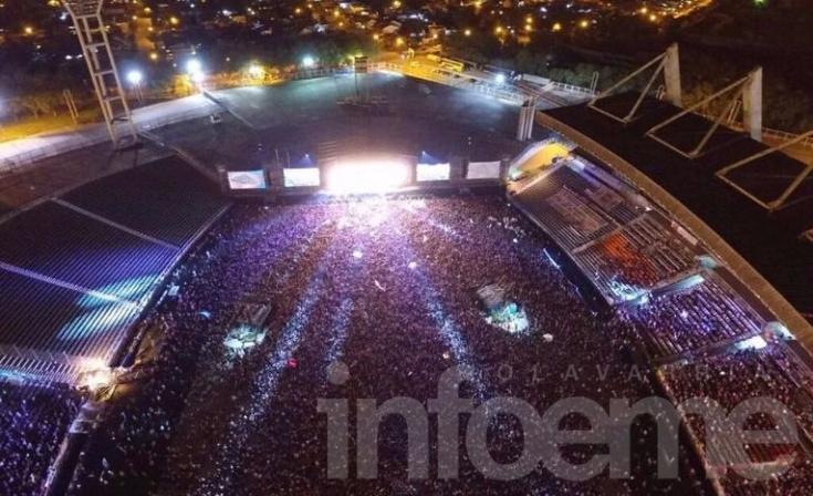 La Renga tocó ante una multitud en el mundialista de Mar del Plata