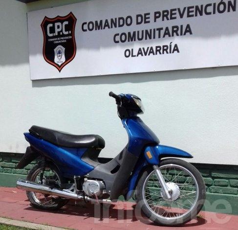 Recuperan una moto que había sido robada en noviembre