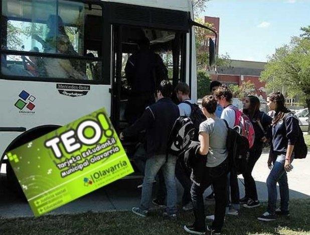 ¿Hasta cuándo rige la Tarjeta Estudiantil de Olavarría (TEO)?