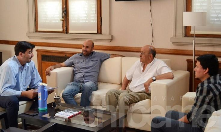 Galli recibió al diputado provincial Valicenti