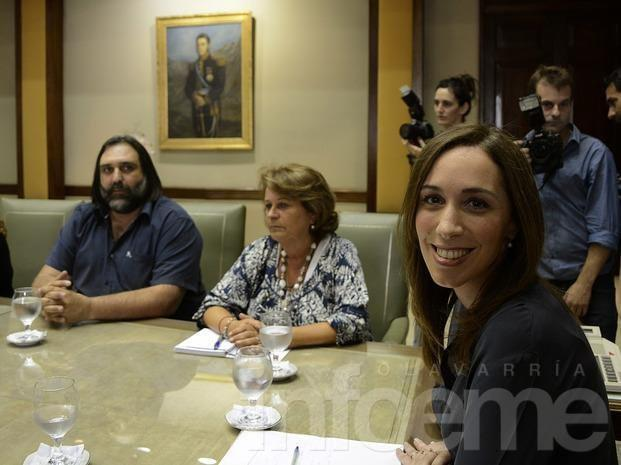 Los gremios docentes se reunieron con Vidal