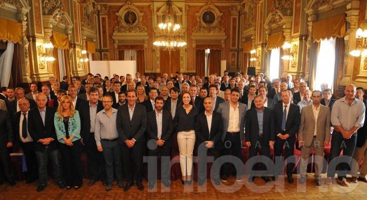Galli participó de un encuentro de la gobernadora Vidal con intendentes