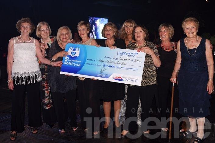 La cena anual solidaria reunió  $1 millón para dos entidades locales