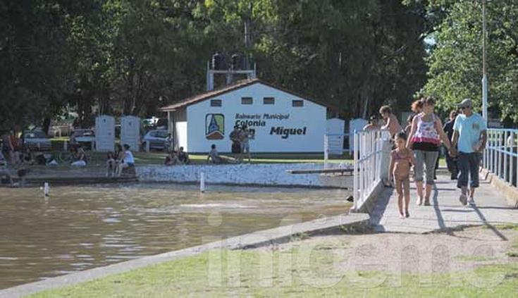 ¿Habilitarán el balneario de Colonia San Miguel para el verano?
