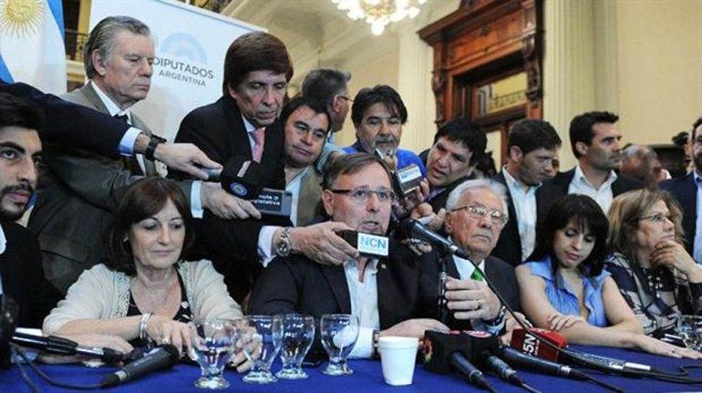 Ganancias: la oposición acordó un proyecto único