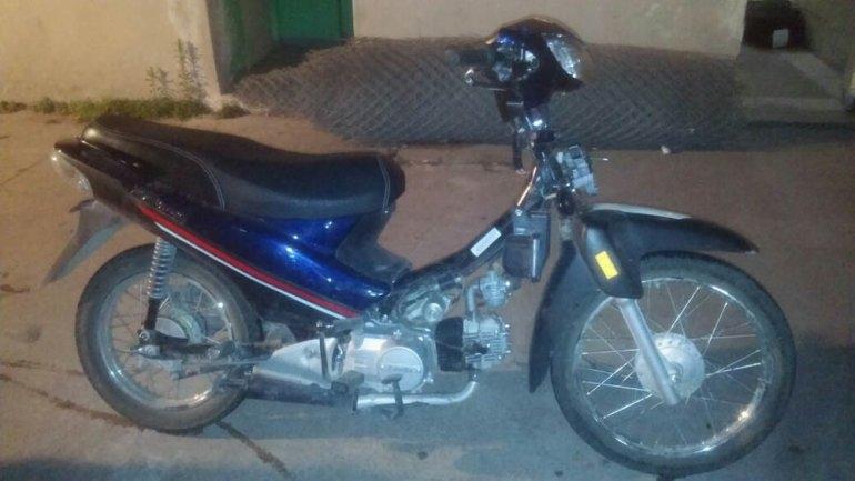 Interceptan una moto con pedido de secuestro