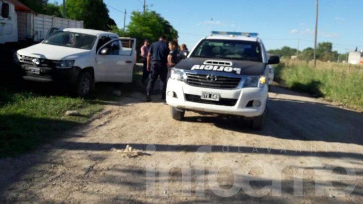 Interceptan camioneta con pedido de secuestro activo