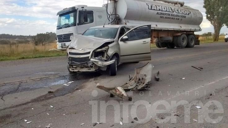 Olavarriense protagonizó choque en Tandil