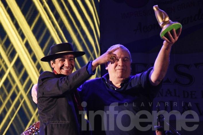 Axel conquistó al público del Festival de Doma y Folclore