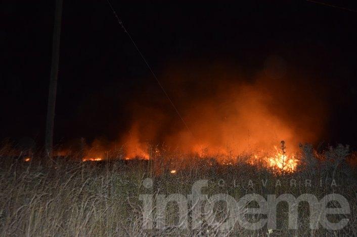Bomberos emitió un comunicado por los incendios forestales