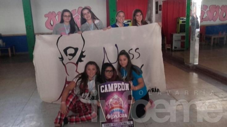 Olavarrienses campeonas en Mendoza