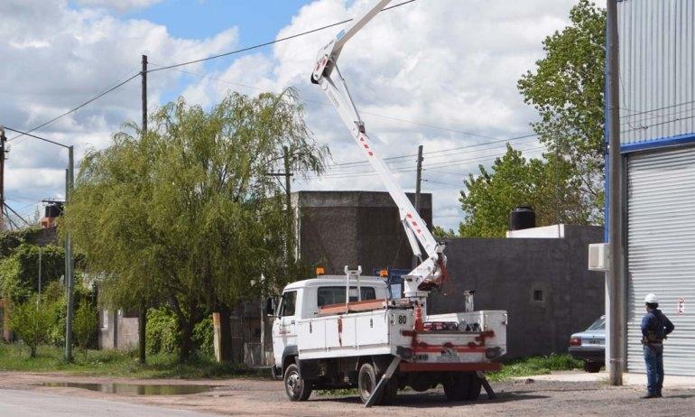 Cortes eléctricos programados para el miércoles