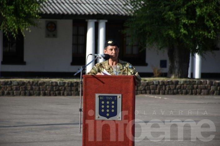 Asumió el nuevo jefe del Regimiento de Olavarría