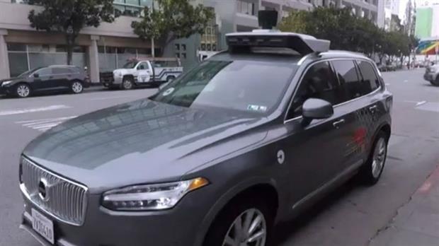 Video: cómo es viajar en el auto sin chofer de Uber