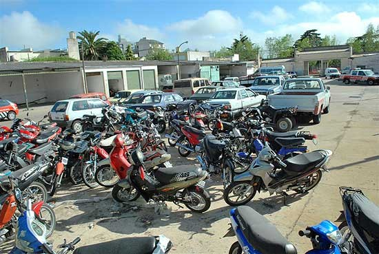 Retiro de vehículos del Corralón Municipal