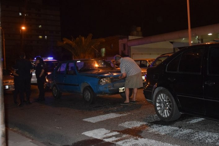Accidente: una mujer fue trasladada al Hospital Municipal